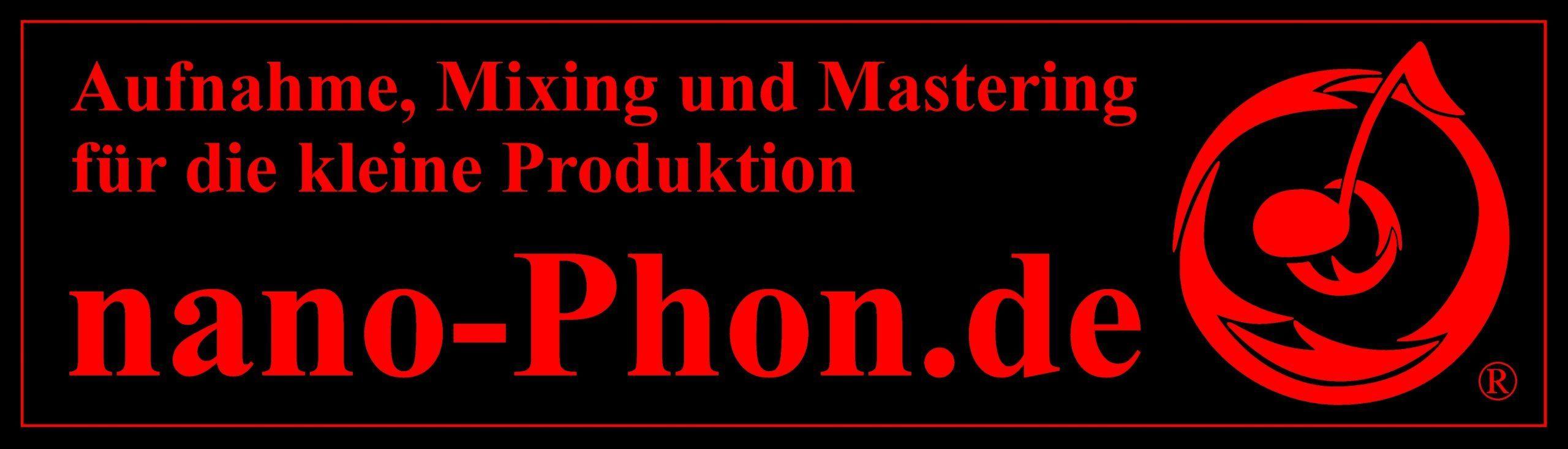 """""""Eigenverlag"""" – der Shop von nano-Phon.de"""